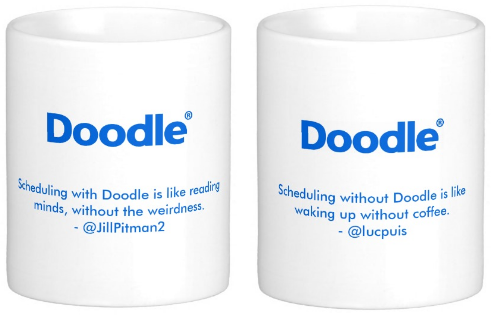 Doodle Mug Winners