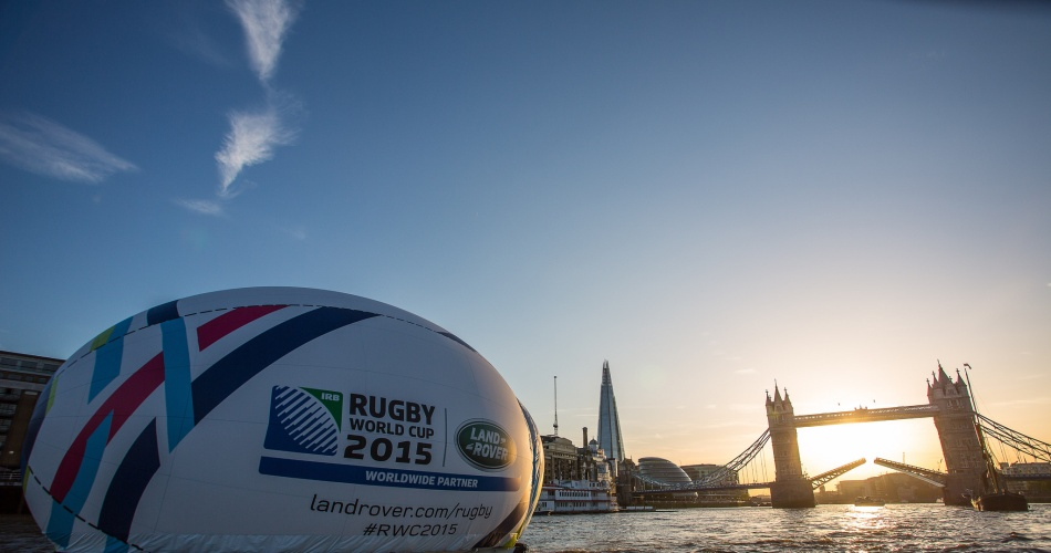 England gets ready for the RWC2015